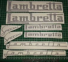 Assorted Lambretta Decals/Stickers